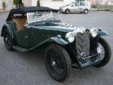 Foto MG TD TA Roadster - restauro totale